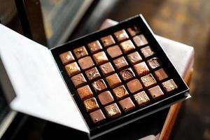 caixa de chocolates foto