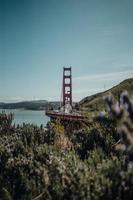 ponte da baía de são francisco foto