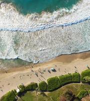 foto aérea da ilha