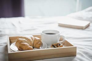 xícara de café da manhã foto