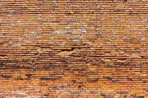 textura da parede de tijolo foto