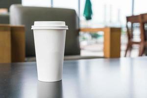 xícara de café solo foto