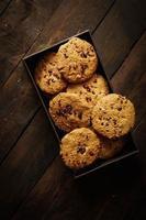 biscoitos em uma caixa