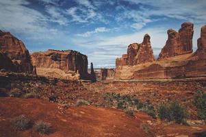 grandes formações rochosas foto