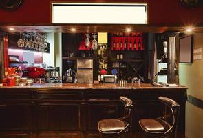 design retro interior de café