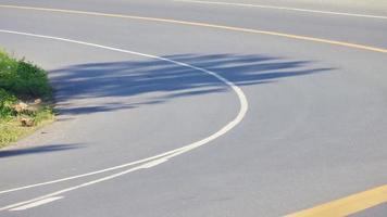 sombra na estrada foto
