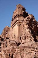 cidade capital de petra nabateus foto