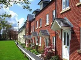 Casas com terraço do século 21