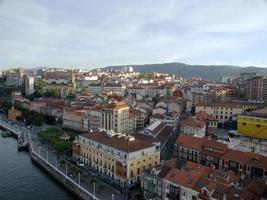 a vila de portugalete em bilbao foto