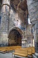 dentro do mosteiro de Akhtala