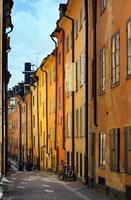 cidade velha de stockholms foto