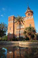 castelo dos dragões, barcelona espanha foto