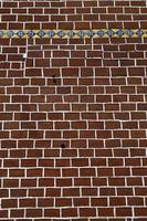 parede de tijolo - parede de tijolo vermelho decorada, parede texturizada