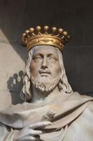 estátua em barcelona foto