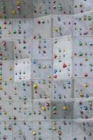 parede de escalada foto