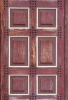 textura de porta de madeira foto