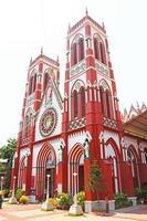 igreja coração sagrado ponducherry índia foto