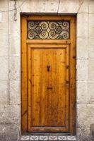 porta de madeira vintage