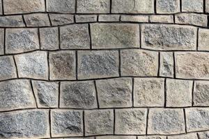 fachada de parede de pedra foto