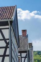 fachada, tempos de trabalho, casas, foto