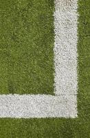 textura de campo de futebol, grama, linha foto