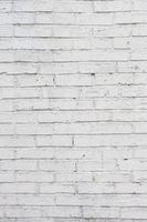 parede de tijolos brancos. parede de concreto branco sujo
