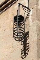 velho poste de luz em Rodes