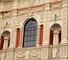 fachada do teatro antigo foto