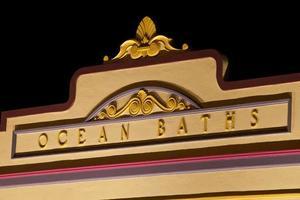 banhos oceânicos de Newcastle