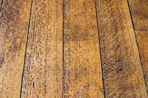 textura de piso de madeira velha foto
