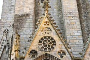 catedral em bayeux. normandia, frança foto