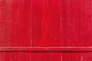 linda porta de casa de porcelana vermelha linda foto