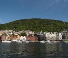 a cidade de Bergen foto