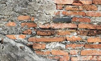 textura de parede de tijolo velha