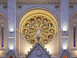 basílica de notre-dame de nice. França foto