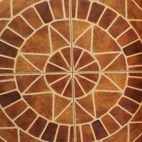 textura de fundo arquitetônico de parede de tijolos antigos foto
