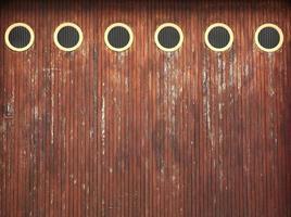 porta da garagem - frança foto