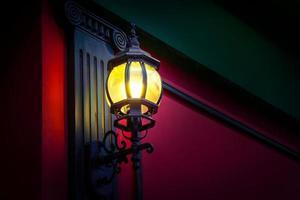 lâmpada de rua foto
