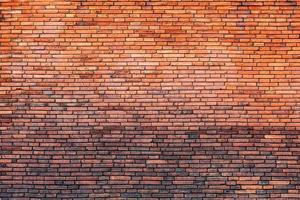 parede de tijolos foto