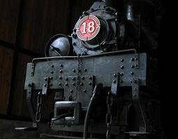 velha locomotiva a vapor