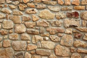 fundo decorativo de parede de pedra antiga