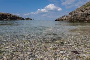 praia em belle-ile-en-mer, frança foto
