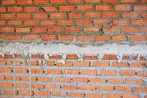 fundo de parede de tijolos foto