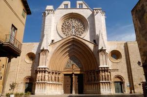 catedral, tarragona, cataluña foto