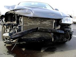 acidente de carro foto