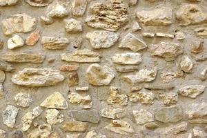fundo decorativo de parede de pedra antiga foto