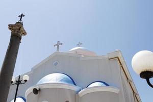 a igreja de agia paraskevi foto