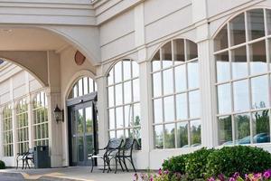 entrada frontal do hotel