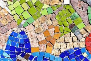 fundo de mosaico foto