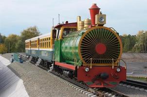 a ferrovia das crianças.